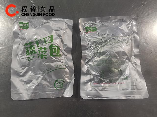 方便速食自熱火鍋150克蔬菜包廠家批發生產加工素菜包